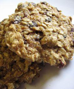 macrobiotic oatmeal raisin cookies