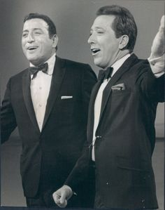 Tony Bennett and Andy Williams