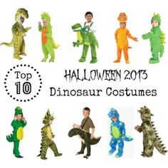 "Don't worry, I will not be doing ""Top 10″ lists for every Halloween costume around, but my little guy has requested a dinosaur costume this year. As I looked, I decided that perha..."