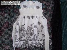 size 2 retro print smocked dress $85 pls ring 0427820744