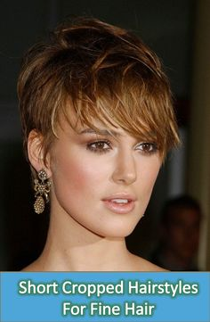 Keira Knightley cut her hair short for film Domino, after that she has rocked pixie cut. In our gallery you will find 15 New Keira Knightley Pixie Cuts that. Cool Short Hairstyles, Chic Hairstyles, Pixie Hairstyles, Short Hair Styles, Layered Hairstyles, Hairstyle Ideas, Pixie Haircuts 2015, Cropped Hairstyles, Makeup Hairstyle