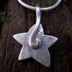 Silver Jewellery Star Necklace