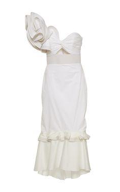 Johanna Ortiz One Shoulder Dress