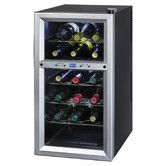 Found it at AllModern - 18 Bottle Dual Zone Freestanding Wine Refrigerator