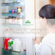 Is it safe to refrigerate the formula that was not consumed? Maybe even freeze it? Will it keep all the nutrients? #babytips #babyformula #babyblog #organicbabyfood