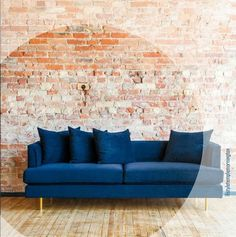 Cobble Hill Soho Sofa Exclusively At ABC, The SoHo Sofa Pairs The  Contemporary Design Of A Low Slung, Linear Form With Soft Cotton Velvet  Upholsteu2026