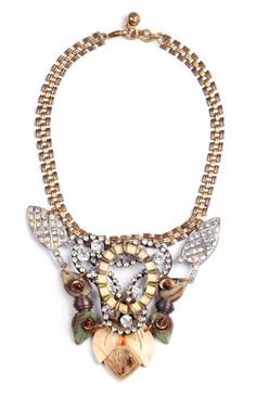 100 Year Necklace Featuring Vintage Parts From 1860-1960 by Lulu Frost - Moda Operandi