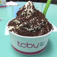 Everyone needs a few sprinkles in their life! #tcby