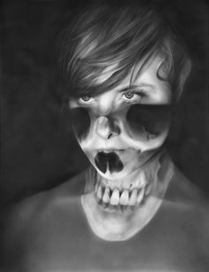 Illustration - illustration - Realistic Portraits by Melissa Cooke illustration : – Picture : – Description Realistic Portraits by Melissa Cooke -Read More – Projector Photography, Art Photography, Conceptual Photography, Creative Photography, Claude Monet, Skull Face, Skull Head, Graphite Drawings, Pencil Drawings