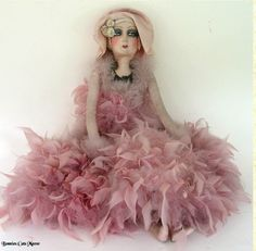 boudoir doll, I had one as a child, and I have another one now.