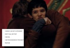 Colin Morgan, Merlin, Merthur and more<<< My friends call me cute and I started chanting demon chants at them.