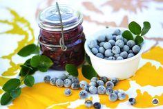 Make this refreshing freezer jam with season ripe blueberries-a perfect summer treat.