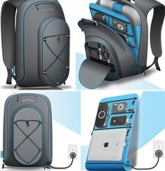 A Docking Station Back-Pack with a Built-In Charger ! #site:gadgetsious.top