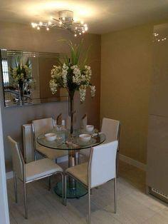 Getting the Best Dinning Room Ideas Modern Small Dining - decoruntold Dining Room Design, Dining Room Furniture, Dining Room Table, Furniture Design, Small Dining, Kitchen Decor, Room Decor, Decoration, Room Ideas
