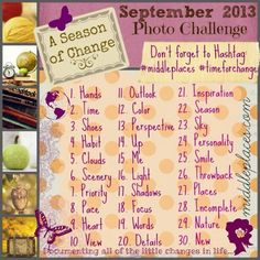 September 2013 Photo Challenge