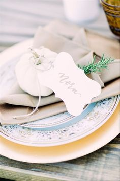 This cute white pumpkin wedding favor is one of our WeddingWire editors' top picks. WeddingWire has tons of wedding favor recommendations at all price points. Click for more wedding favor ideas. Planning your wedding has never been so easy (or fun!)! WeddingWire has tons of wedding ideas, advice, wedding themes, inspiration, wedding photos and more. {The Adirondack Ink}