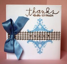 Paper Smooches...great cardmaking products!