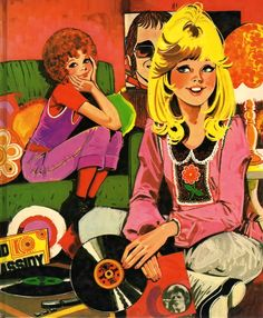 vinylespassion:  Purita Campos, 1975.