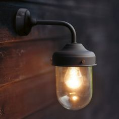 Coffee Bean Barn Lamp is a stylish, durable outdoor garden wall light, ideal for a porch, garage or shed. Any individual can develop a prope. Garage Lighting, Barn Lighting, Outdoor Wall Lighting, Sconce Lighting, Outdoor Walls, Bathroom Lighting, Lighting Ideas, Mirror Bathroom, Indoor Outdoor