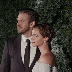 "ewatsondaily: ""Emma Watson & Dan Stevens at the ""Beauty And The Beast"" London Premiere (02/23/17) """
