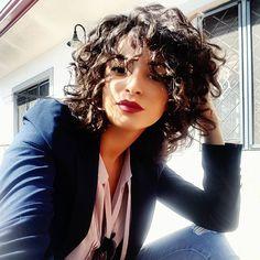 "100 Likes, 6 Comments - DanielaDG (@dana.dg) on Instagram: ""Bob cut addicted   #bobcut #curlybob #curls #cutagain #newlook #neverthesame #woman #womanatwork…"""