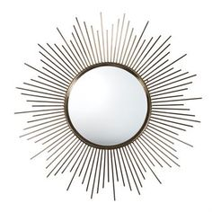 Sun mirror - gold - By On