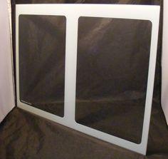 WR32x10163 GE Refrigerator Crisper Drawer Cover Glass