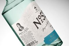 """Lysholm N52 Botanisk Aquavit Packaging by Olssøn Barbieri """"For this project we were allowed to break free from many of the existing brand identifiers to create an homage to Jørgen B. Lysholms early years as a chemist and pioneer and to tell a story..."""