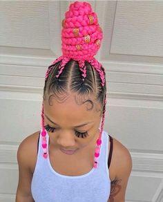 25 Must-Have Goddess Braids Hairstyles Baddie Hairstyles, Ponytail Hairstyles, Weave Hairstyles, Girl Hairstyles, Braided Ponytail, Simple Hairstyles, Braided Hairstyles For Black Women, African Braids Hairstyles, Braids For Black Hair