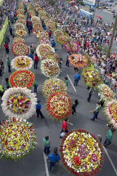Festival internacional de la Flores en Colombia