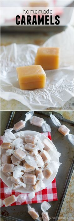 Homemade Caramel - Perfect for gift giving, this homemade caramel is so tasty and addictive!