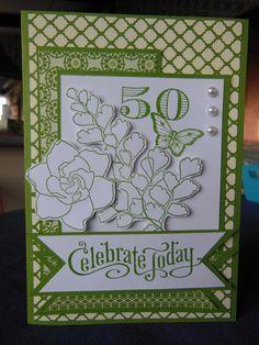 Verity's 50th card
