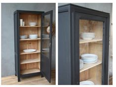 Diy Furniture Hacks, China Cabinet, Bon Weekend, Armoire, Tall Cabinet Storage, Sweet Home, Colours, Interior Design, Kitchen