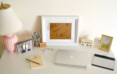 Keep all of your work place essentials close by to keep up your productivity.