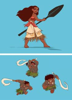 — the-disney-elite:   Concept Art for Disney's Moana...