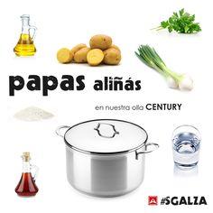 Lava las patatas, ponlas en la olla y cubre con agua, añade sal gruesa y hierve 25min. (según tamaño) Pica la cebolleta y el perejil. Cuando las patatas estén cocidas, apartar la olla del fuego y dejarlas dentro 30min. Escurrir las patatas, pelar, cortar en rodajas y poner en una fuente de cerámica o cristal, no metal. Añadir cebolleta, perejil picado y sal gruesa. Luego el vinagre y el aceite de oliva.