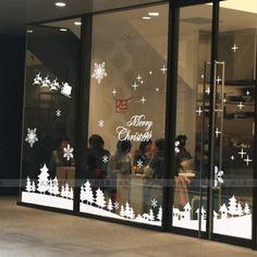 Christmas Wall Clings Reusable