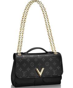 Louis Vuitton Very Chain Bag M42899 Black. Keep Fashion With New LV Handbags