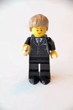 Custom Lego Minifigure Groom or Ring Bearer ~ Wedding Lego ~ Lego Wedding by DivinityBraid on Etsy