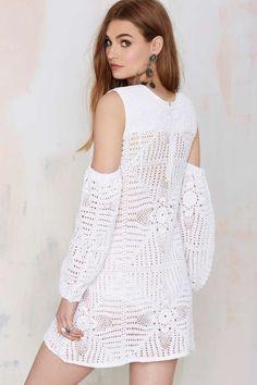 Nightwalker The Renaissance Crochet Dress - LWD | Shift | Clothes | All | Ménage au Mirage | Dresses
