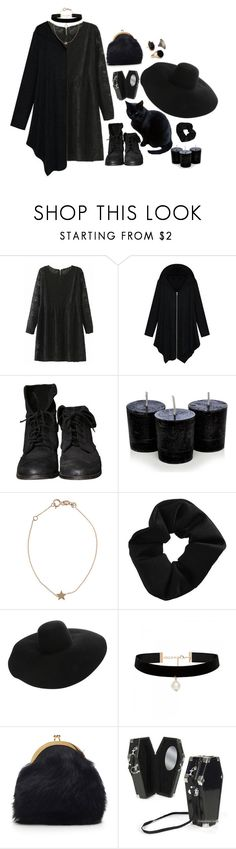 """witch⭐"" by moon-grrrl ❤ liked on Polyvore featuring WithChic, Zara, Kismet, Topshop, Lanvin, Forever New and Simone Rocha"
