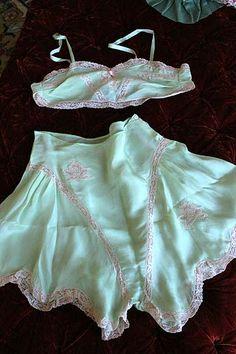 Flapper Era Bra/Panty Set