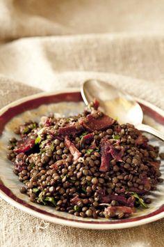 Panier de Saison » Salade de lentilles aux gésiers confits, comment cuire les lentilles pour qu'elles restent fermes et fondantes à la fois?