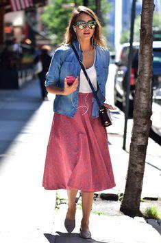 jessica alba off duty looks estilo inspiracion celebridades | Galería de fotos 10 de 20 | Glamour