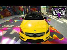MELHOR MOD DE CARRO com ALTA QUALIDADE no GTA5?! Mercedes-Benz CLA 45 AM...