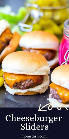 Cheeseburger Sliders come together so easily. Packed with rich, beefy flavor and cheese, these little burgers will disappear quicker than it took you to make them.