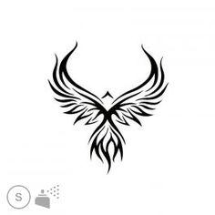 Pochoir Phoenix Tattoo