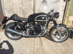 Dave's Norvin Norton Cafe Racer, British Motorcycles, Motorbikes, Vehicles, Motorcycles, Car, Motorcycle, Vehicle, Tools