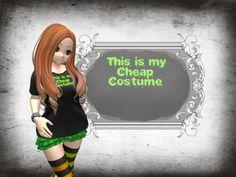 My Cheap Costume Tee *PROMO FREEBIE*
