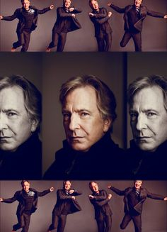 Alan Rickman dancing.  Your life is now complete - Oh, how I do love you, Alan!!